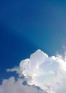 bandung's late oktober sky