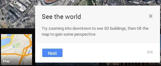3D view google maps baru