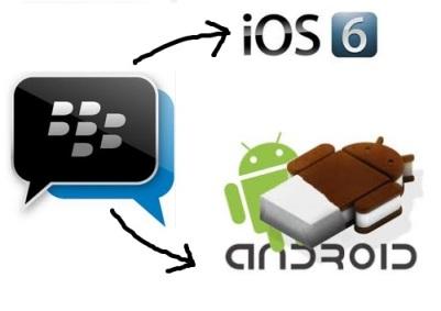 BBM di Android dan iPhone iOS