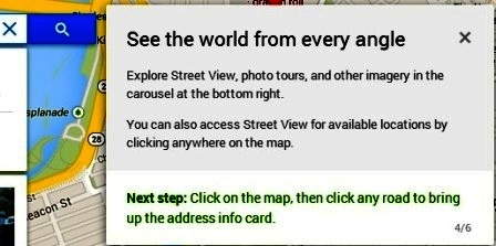 see the world from every angle google maps baru