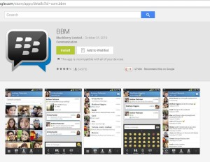 Official BBM on Google Play