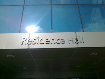 Residence Hall tempat kami menginap semalam di Korea