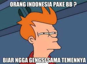 meme gengsi orang indonesia