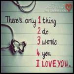 gambar pp bbm - 1 thing 2 do 3 words 4 u i love you