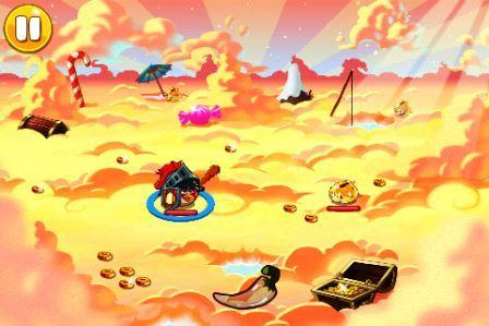 Angry Birds Epic APK Battle Screen Screenshot