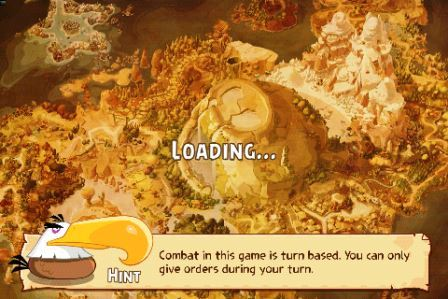 Angry Birds Epic APK Loading Screen Screenshot