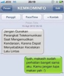 gambar pp bbm - balesan sms untuk kemkominfo