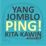 gambar pp bbm - jomblo ping kawin