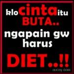 gambar pp bbm - ngapain harus diet