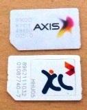 perbandingan kartu axis baru dengan kartu axis lama