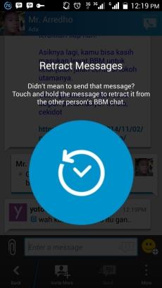Message Retraction BBM 2.5.0.32